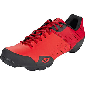 Giro Privateer Lace Sko Herrer, bright red/dark red